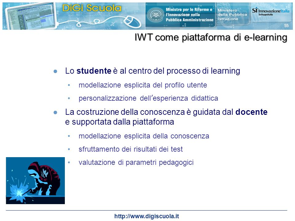 IWT come piattaforma di e-learning