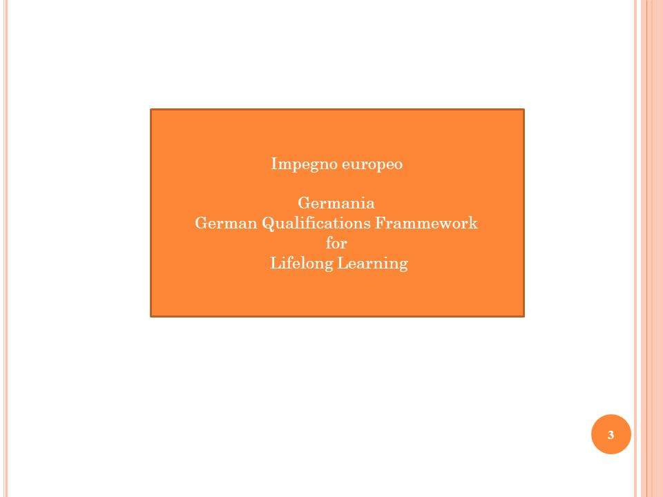 German Qualifications Frammework