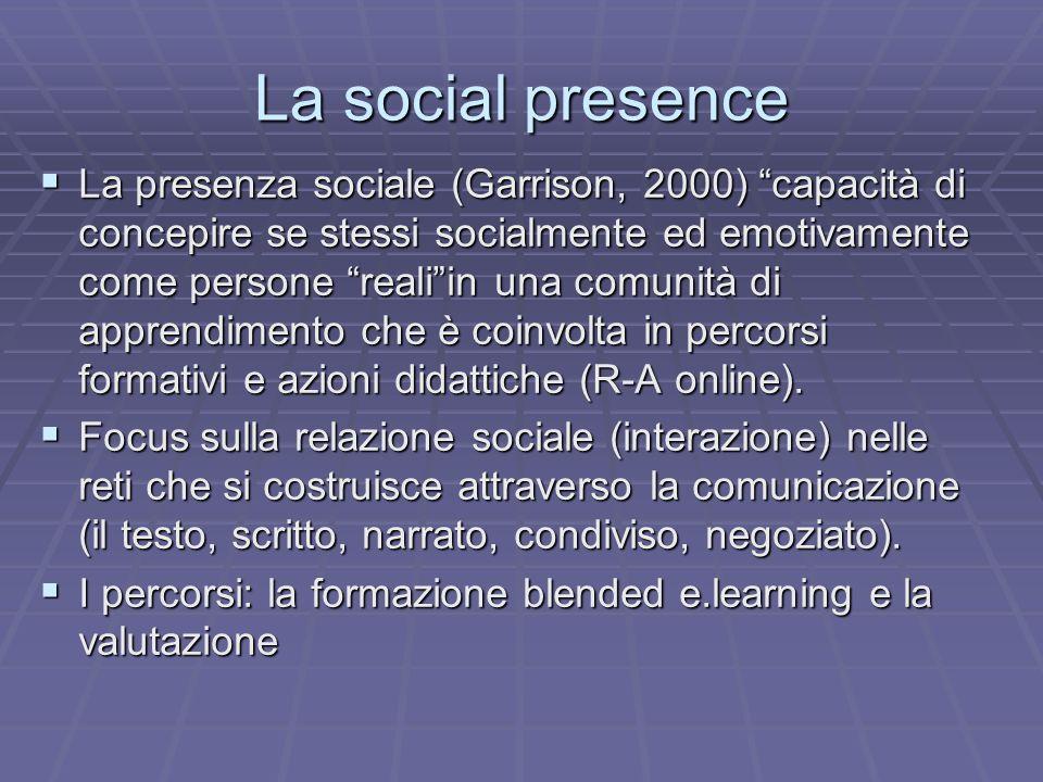 La social presence