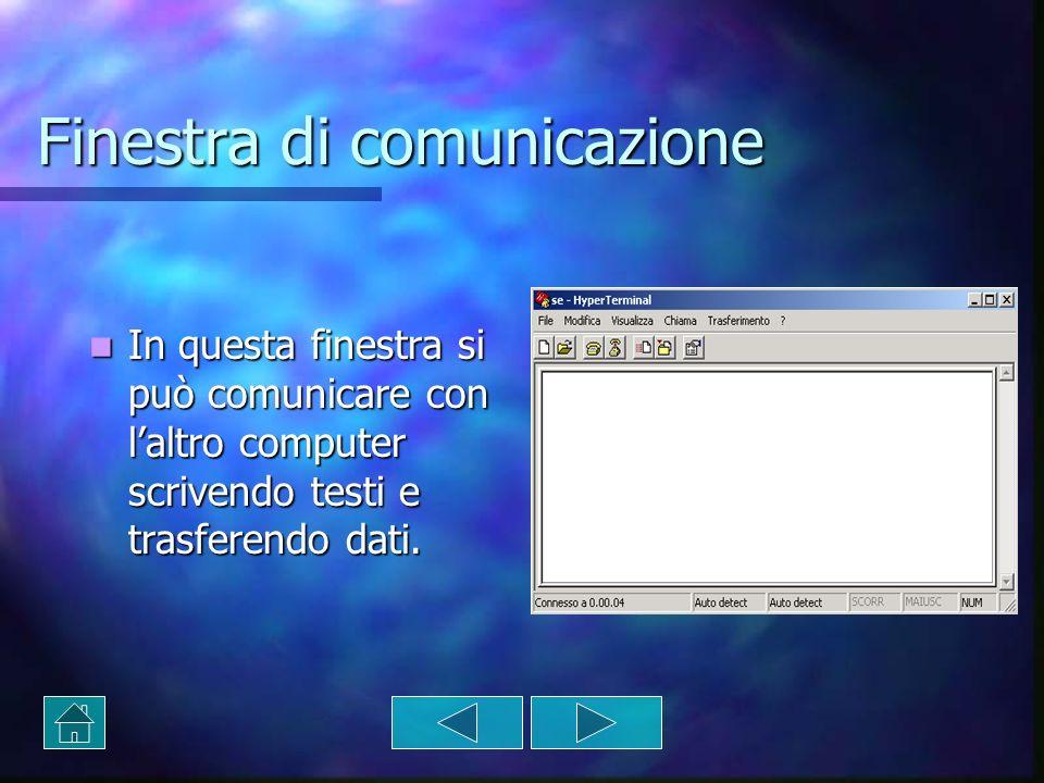 Finestra di comunicazione