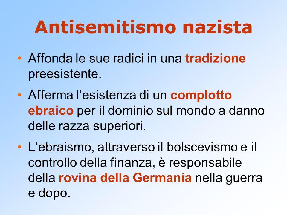 Antisemitismo nazista