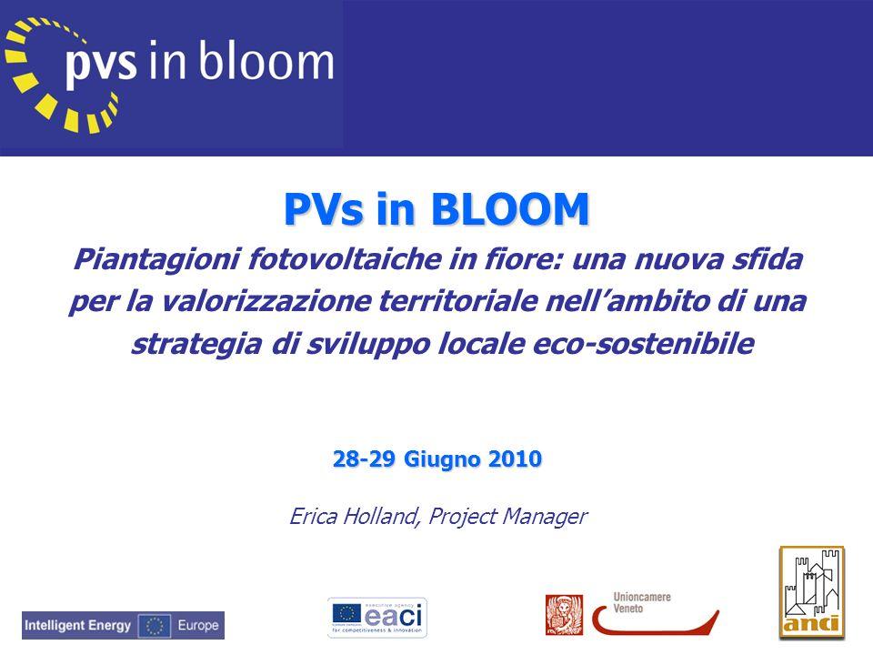 PVs in BLOOM Piantagioni fotovoltaiche in fiore: una nuova sfida