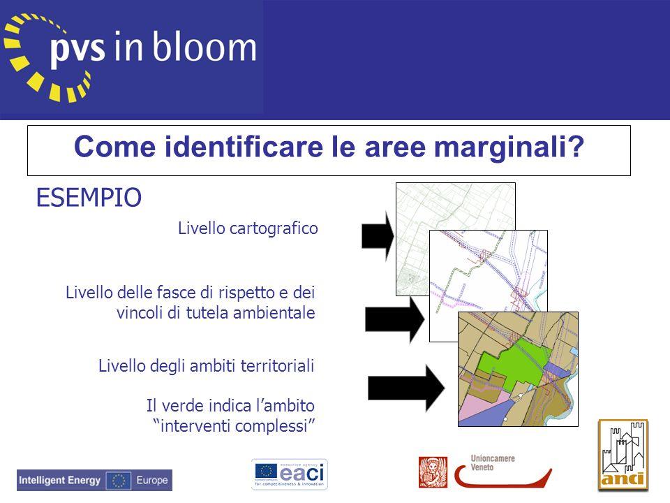 Come identificare le aree marginali