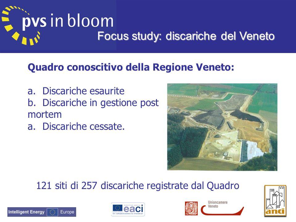 Focus study: discariche del Veneto