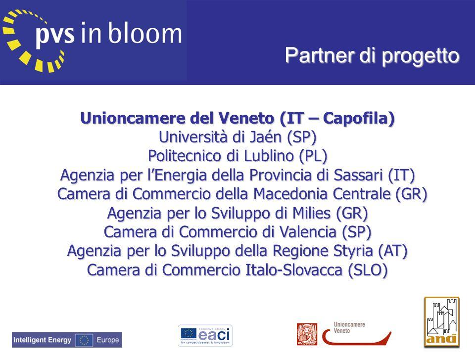 Partner di progetto Unioncamere del Veneto (IT – Capofila)