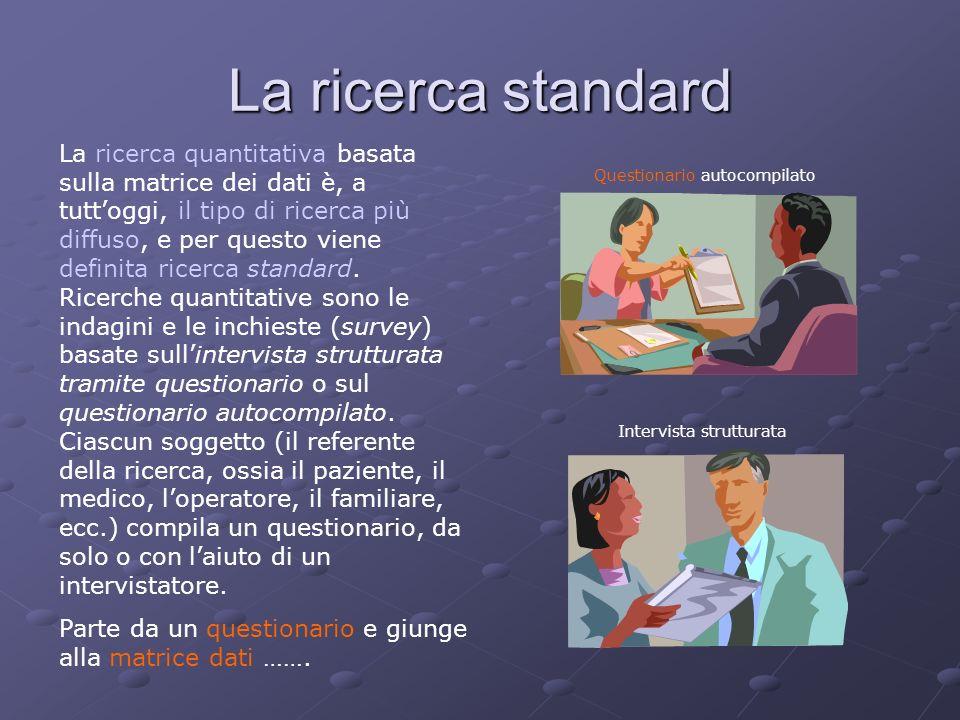 La ricerca standard