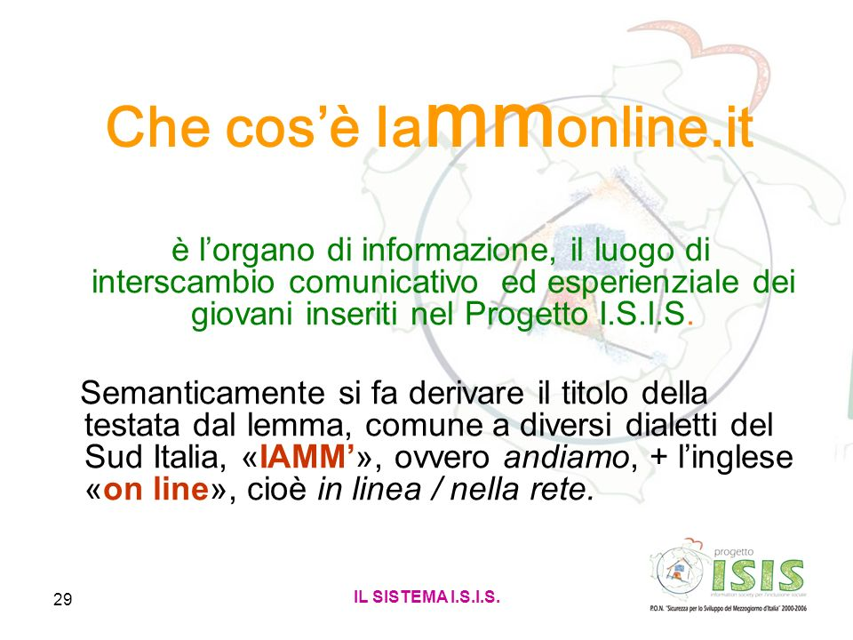 Che cos'è Iammonline.it