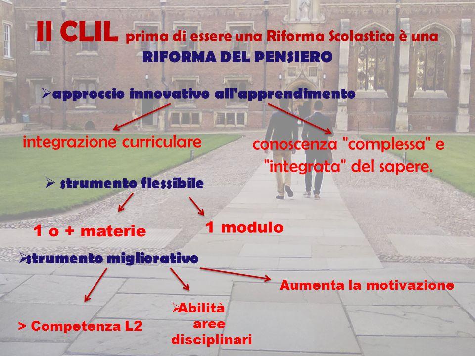 integrazione curriculare