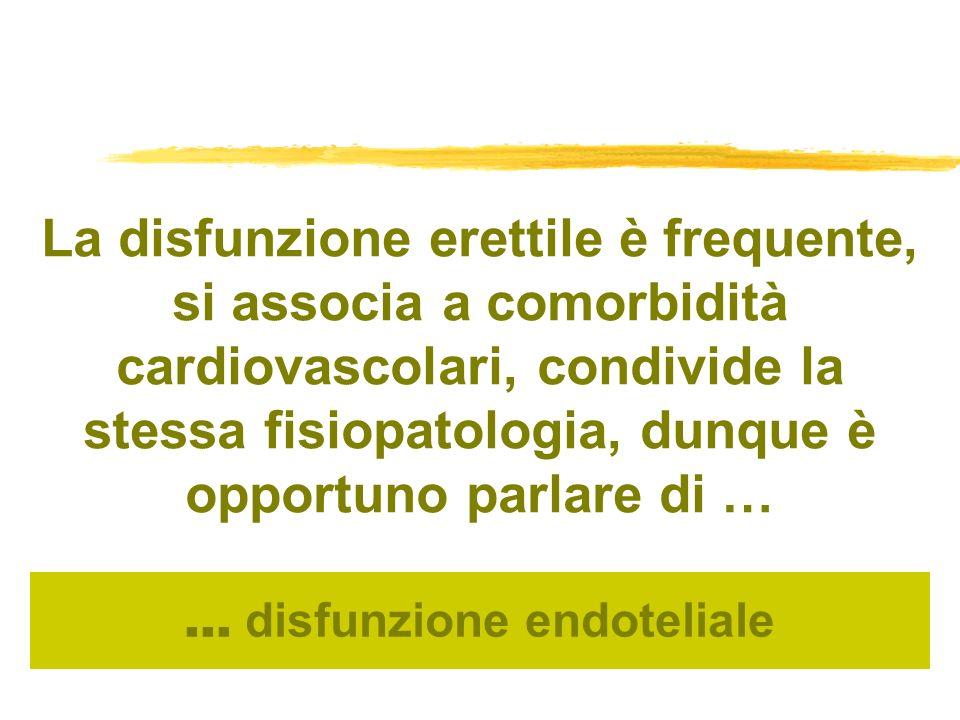 … disfunzione endoteliale
