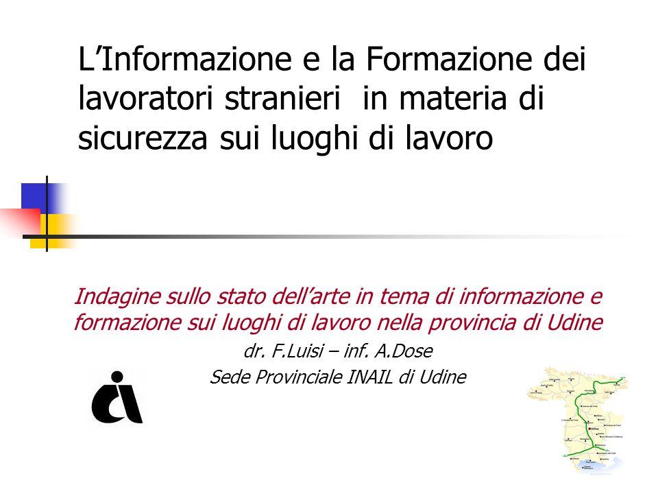 Sede Provinciale INAIL di Udine