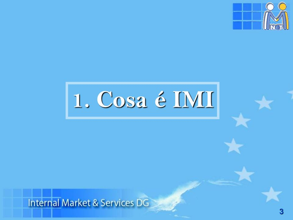 1. Cosa é IMI
