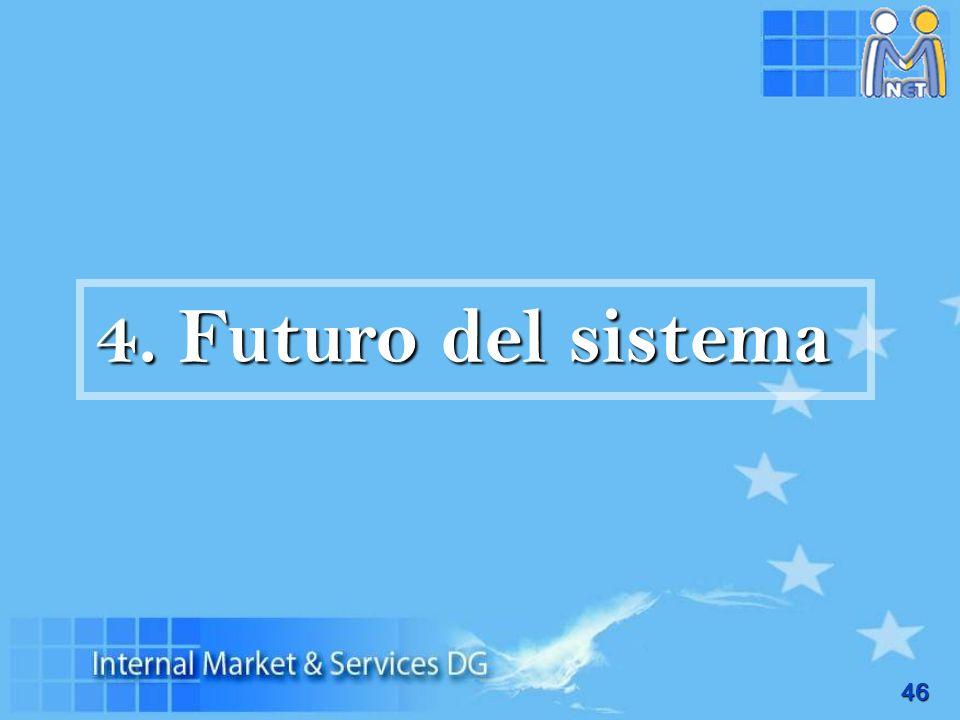 4. Futuro del sistema
