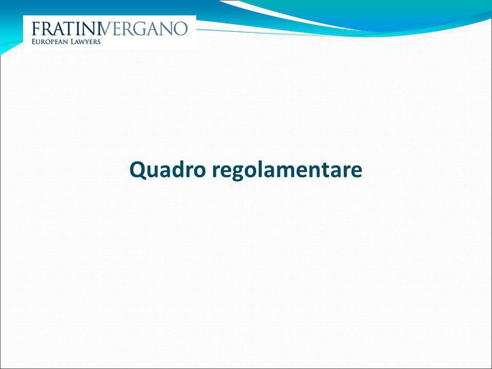 Quadro regolamentare 12 12