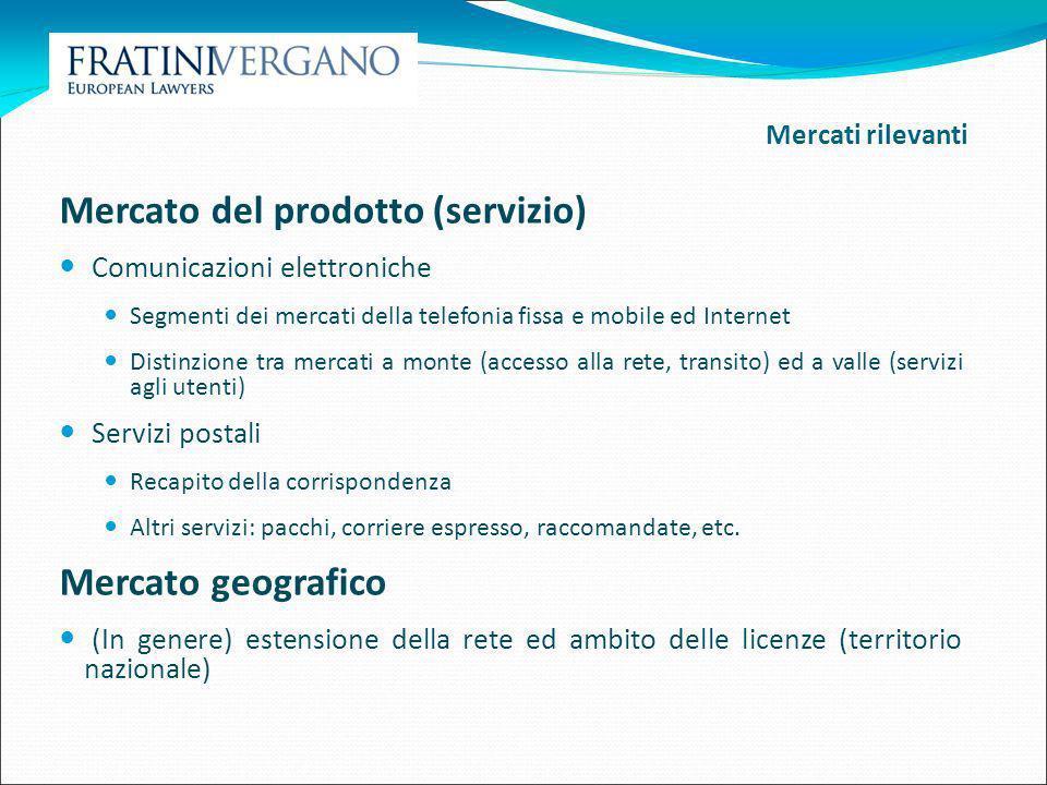 Mercato del prodotto (servizio)