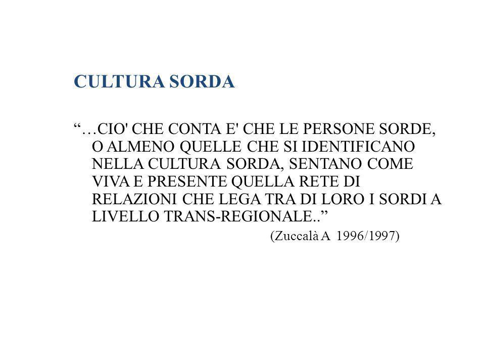 CULTURA SORDA