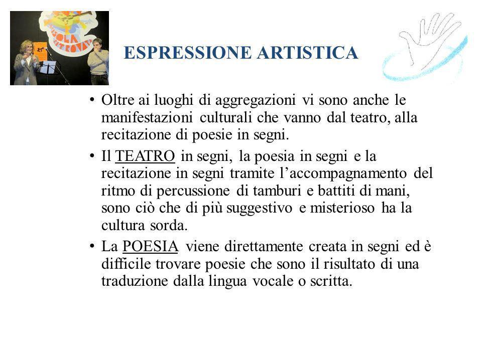 ESPRESSIONE ARTISTICA