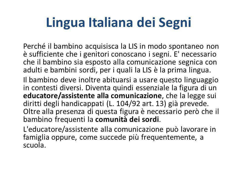 Lingua Italiana dei Segni