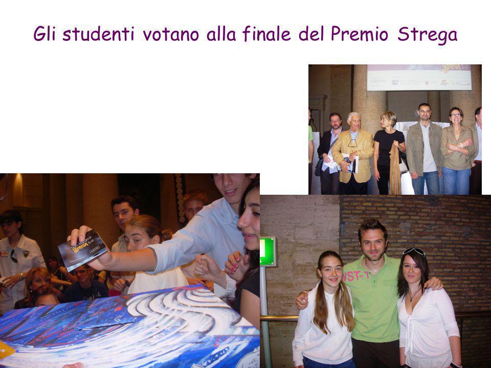 Gli studenti votano alla finale del Premio Strega