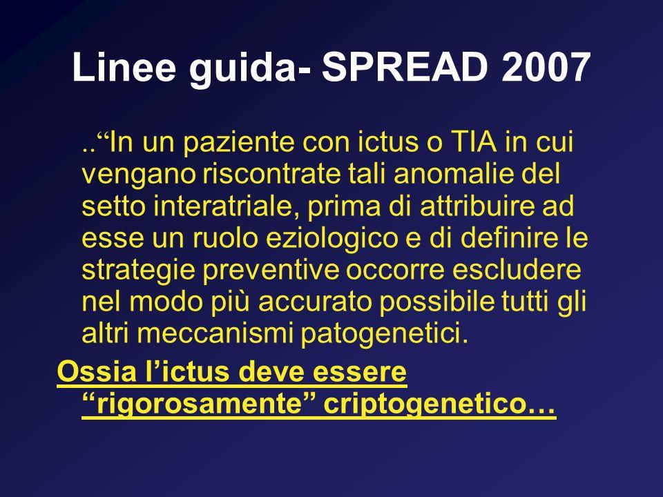 Linee guida- SPREAD 2007