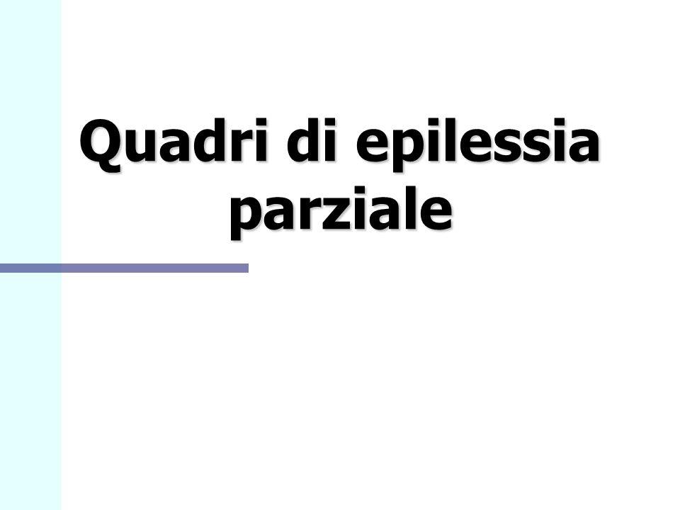 Quadri di epilessia parziale
