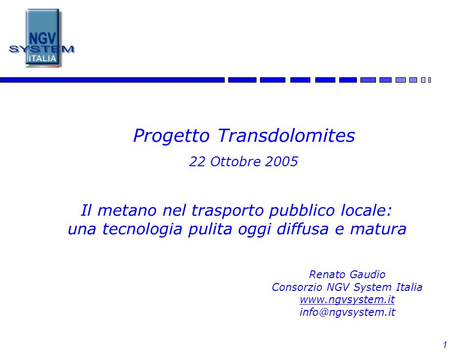 Progetto Transdolomites 22 Ottobre 2005