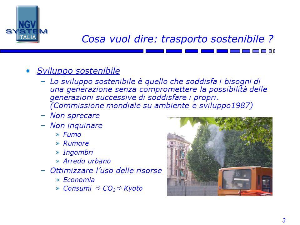 Cosa vuol dire: trasporto sostenibile