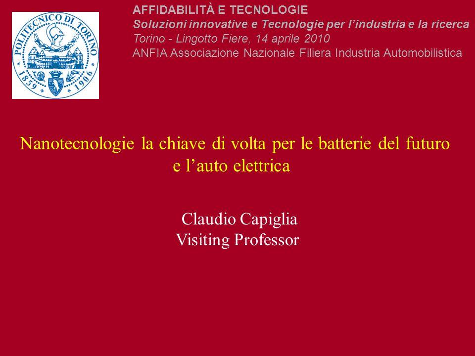 Nanotecnologie la chiave di volta per le batterie del futuro