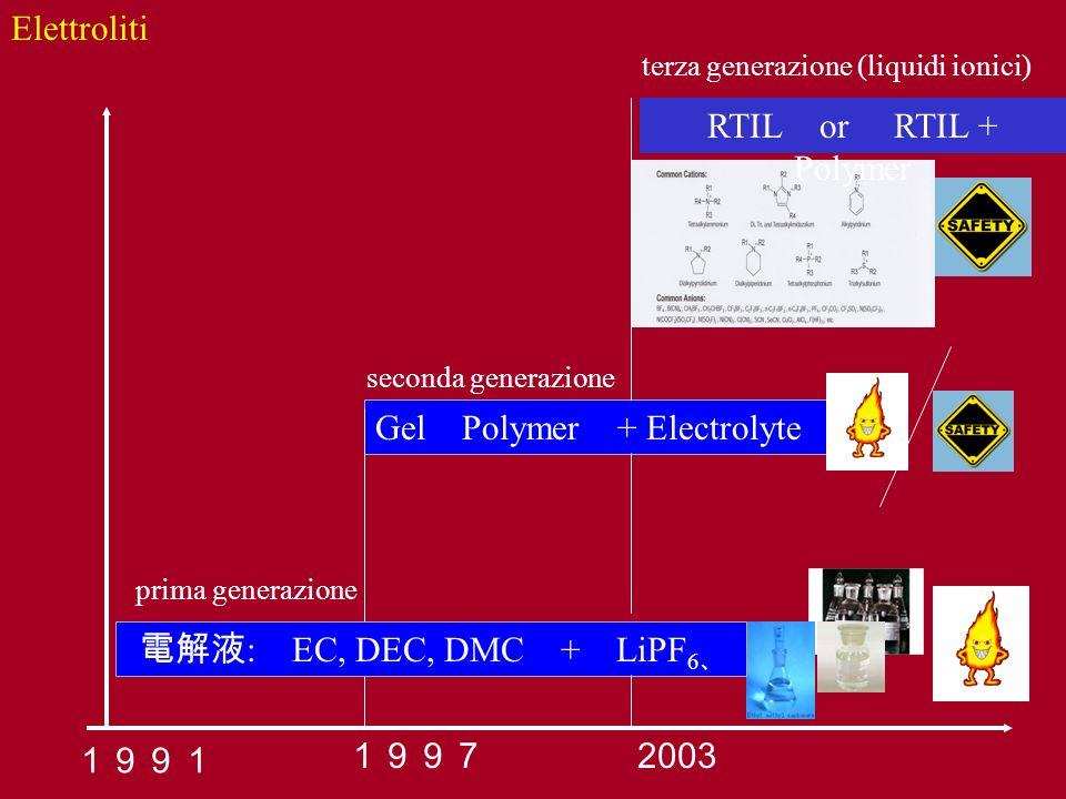 Gel Polymer + Electrolyte