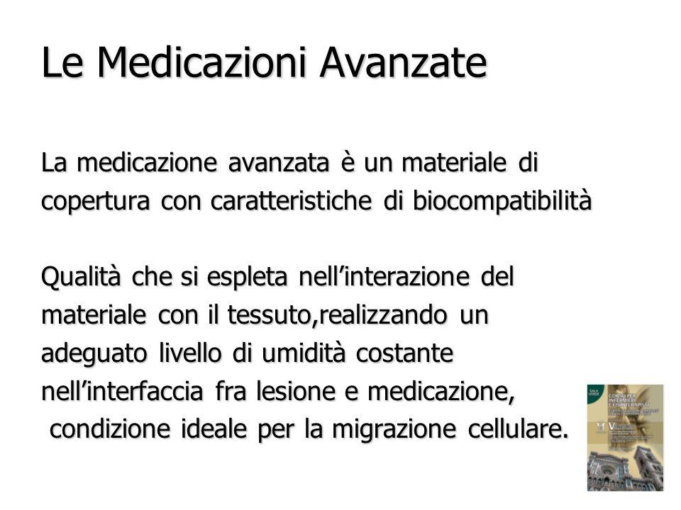Le Medicazioni Avanzate