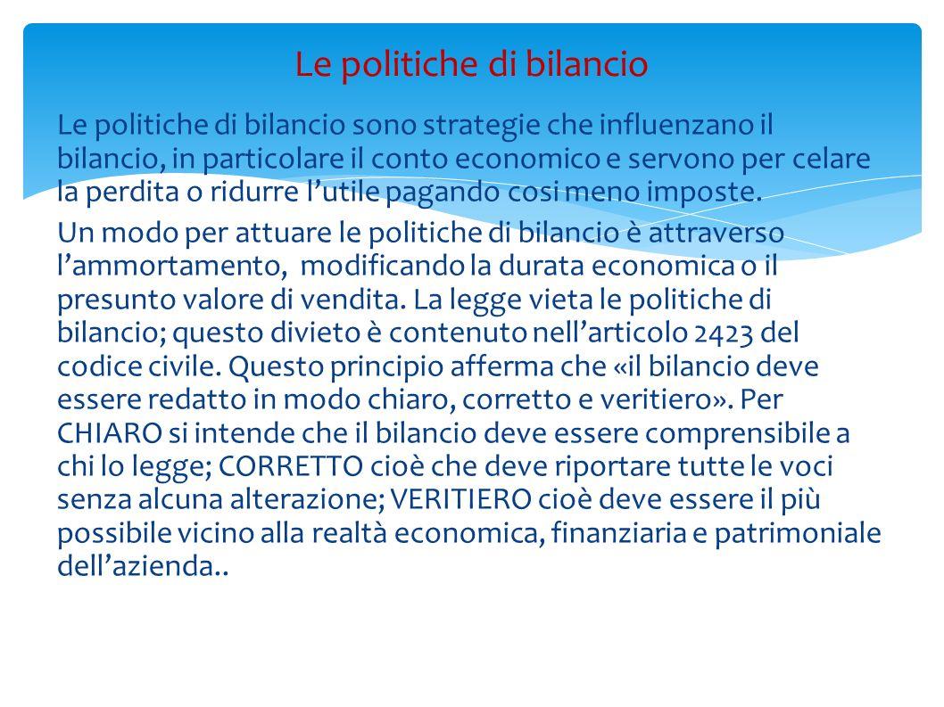 Le politiche di bilancio