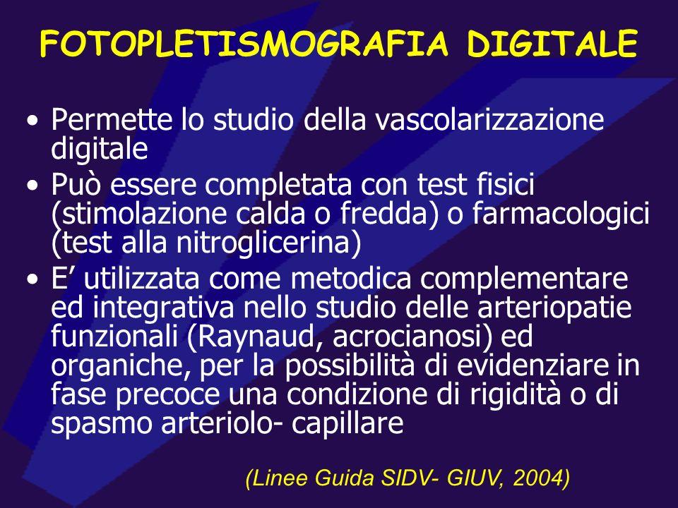 FOTOPLETISMOGRAFIA DIGITALE