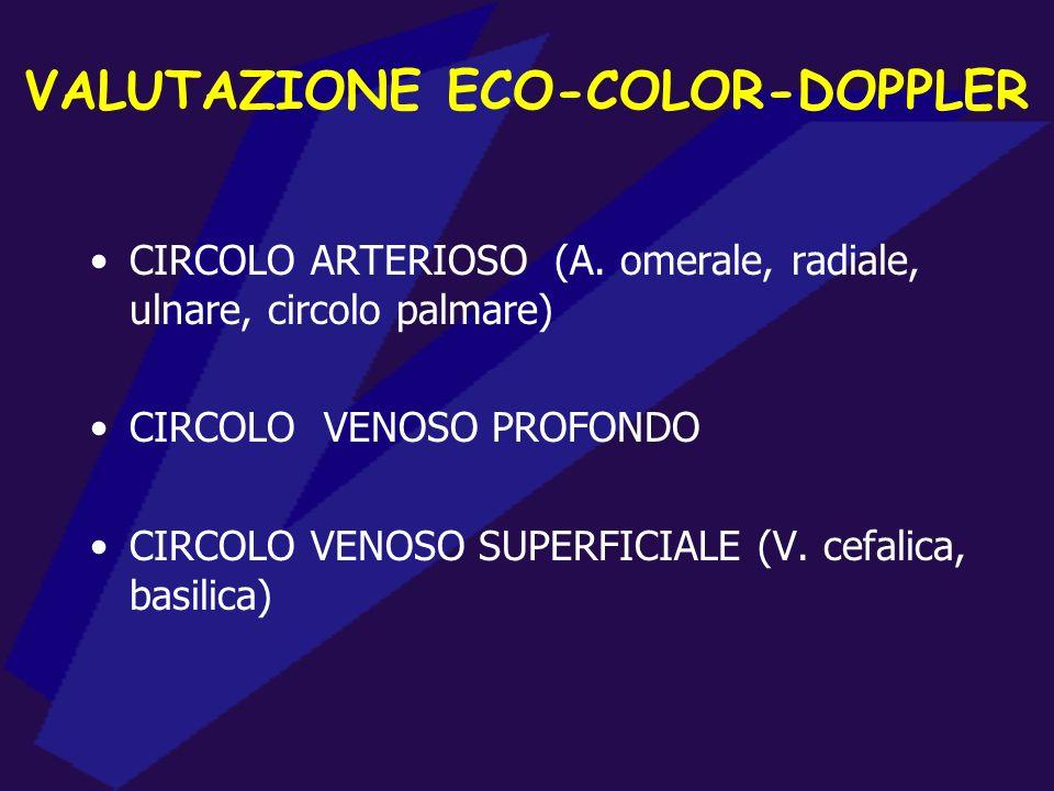 VALUTAZIONE ECO-COLOR-DOPPLER