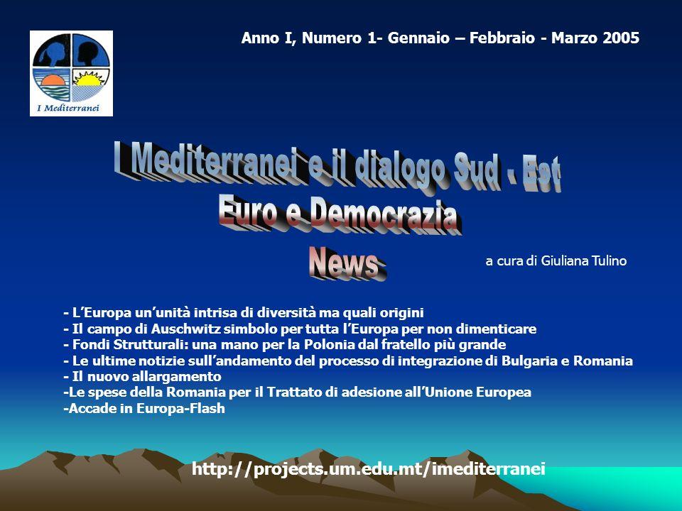 Anno I, Numero 1- Gennaio – Febbraio - Marzo 2005