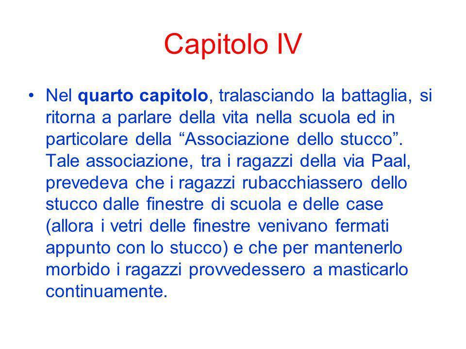 Capitolo IV