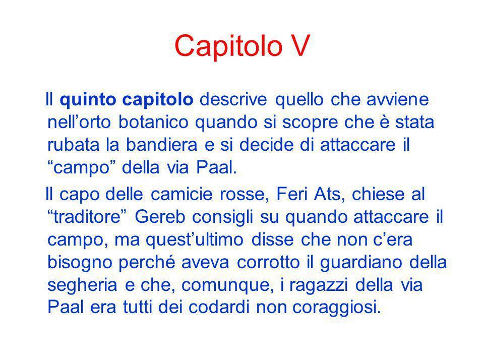 Capitolo V