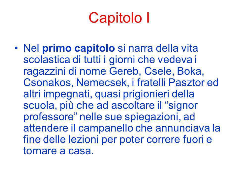 Capitolo I