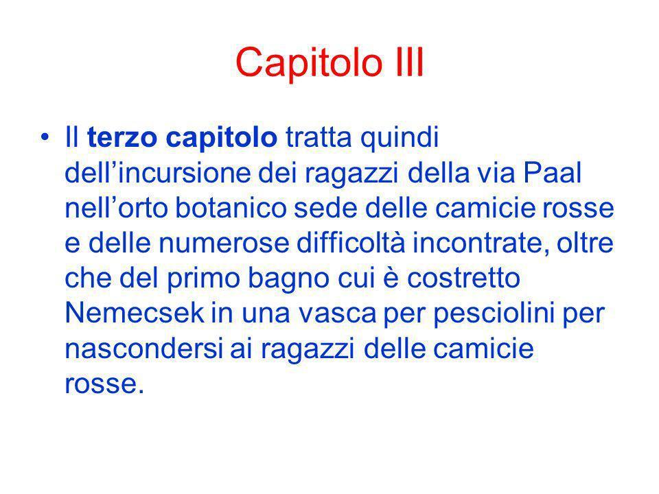 Capitolo III