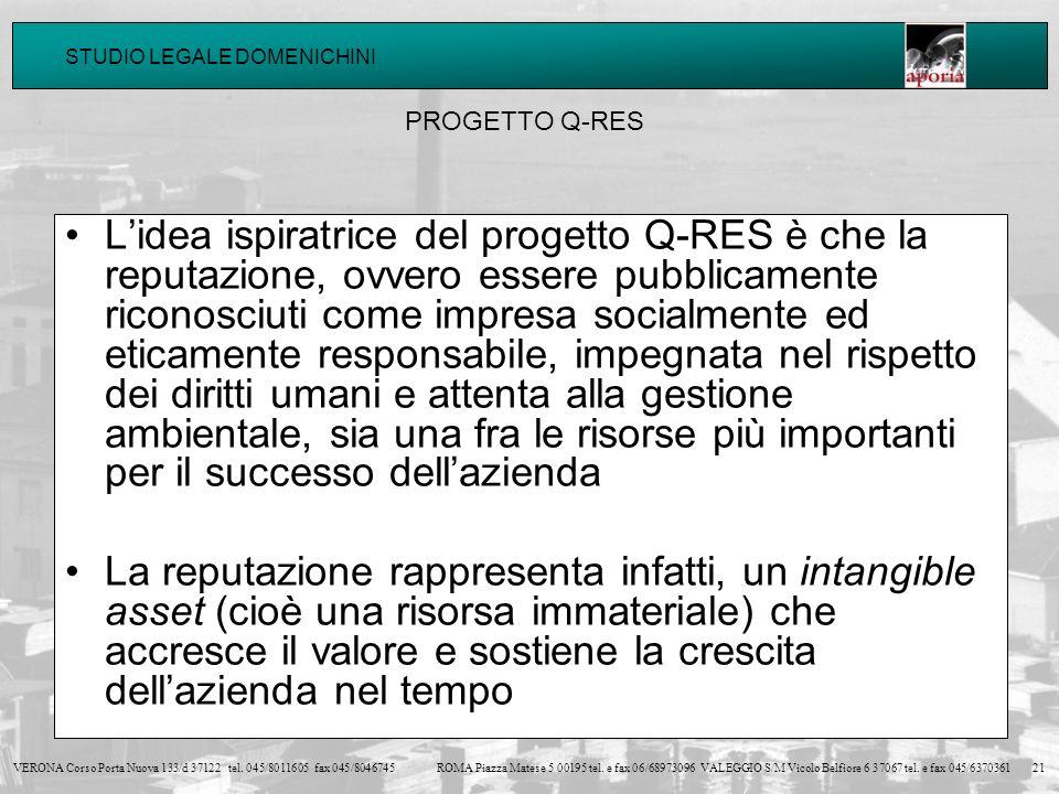 PROGETTO Q-RES