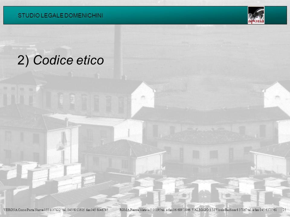 2) Codice etico