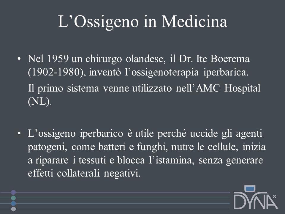 L'Ossigeno in Medicina