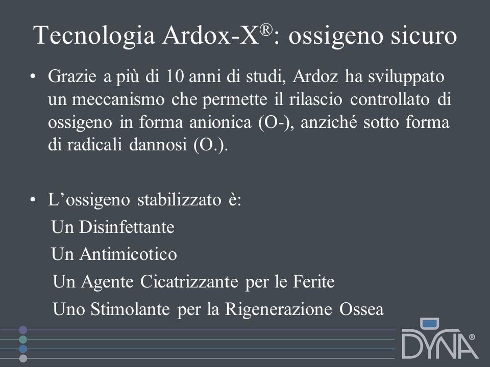 Tecnologia Ardox-X®: ossigeno sicuro