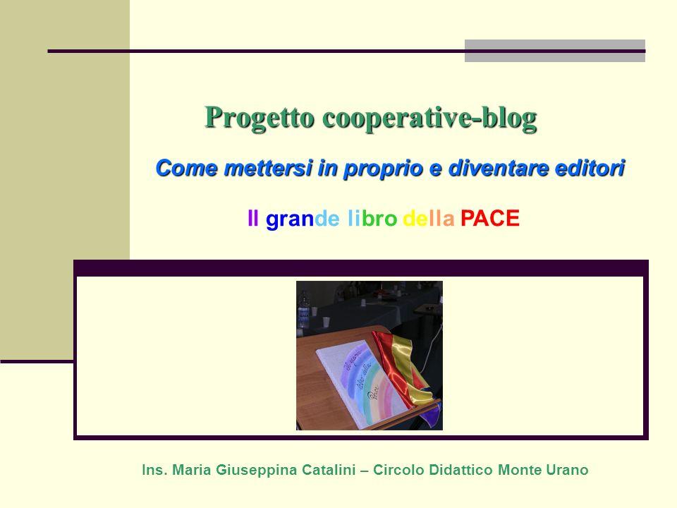 Progetto cooperative-blog