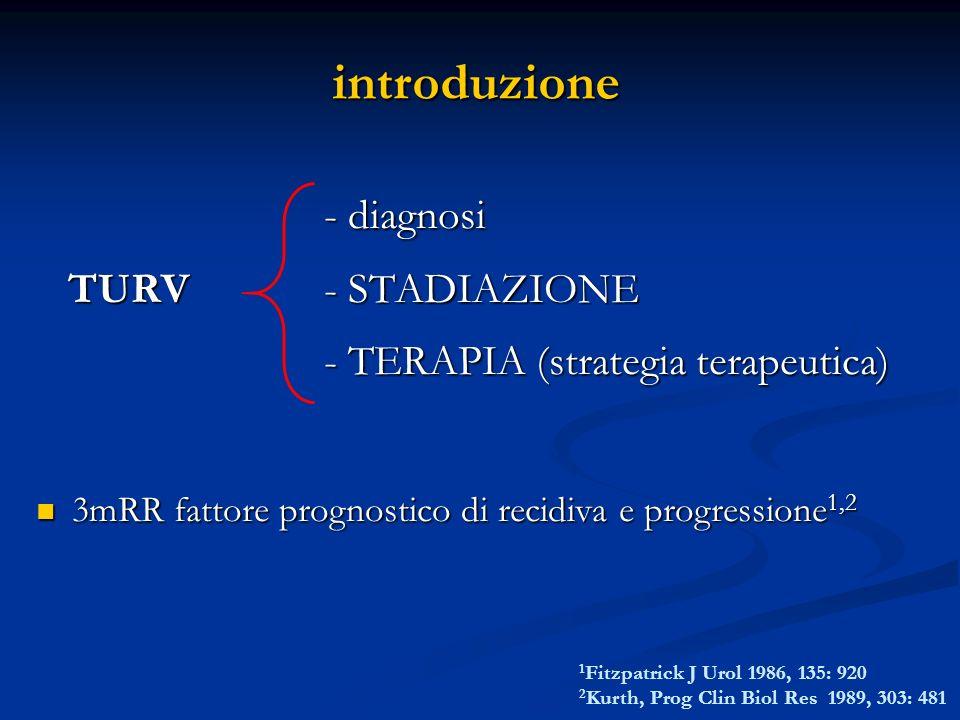 introduzione - diagnosi TURV - STADIAZIONE