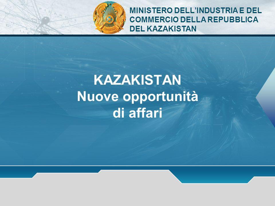 KAZAKISTAN Nuove opportunità di affari
