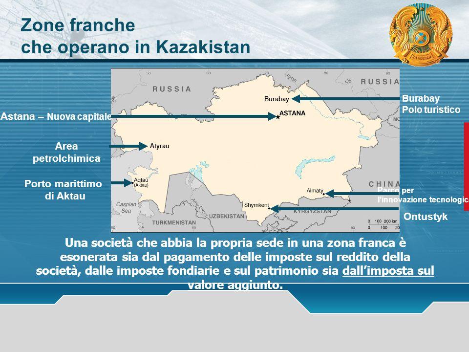 che operano in Kazakistan