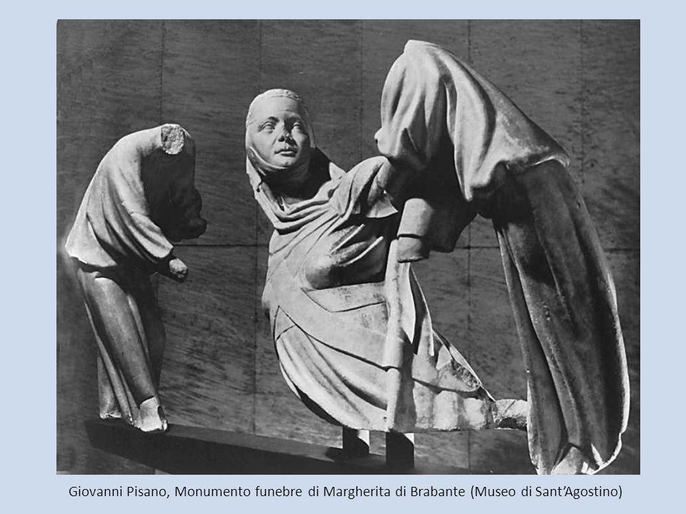 Giovanni Pisano, Monumento funebre di Margherita di Brabante (Museo di Sant'Agostino)