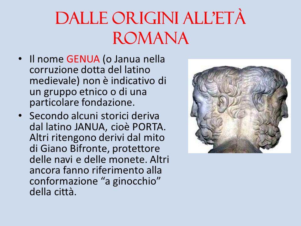 Dalle origini all'età romana