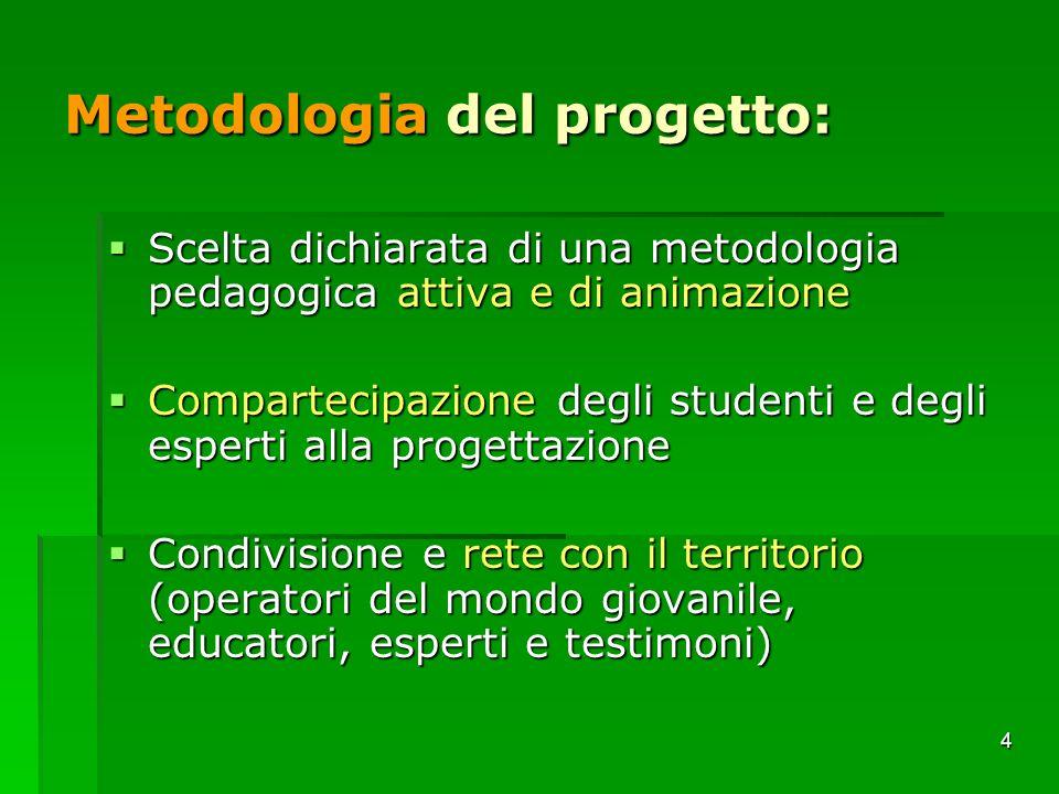 Metodologia del progetto:
