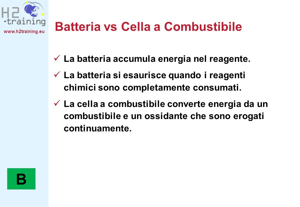 Batteria vs Cella a Combustibile