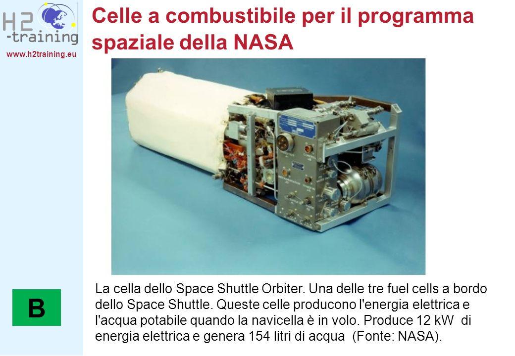 Celle a combustibile per il programma spaziale della NASA